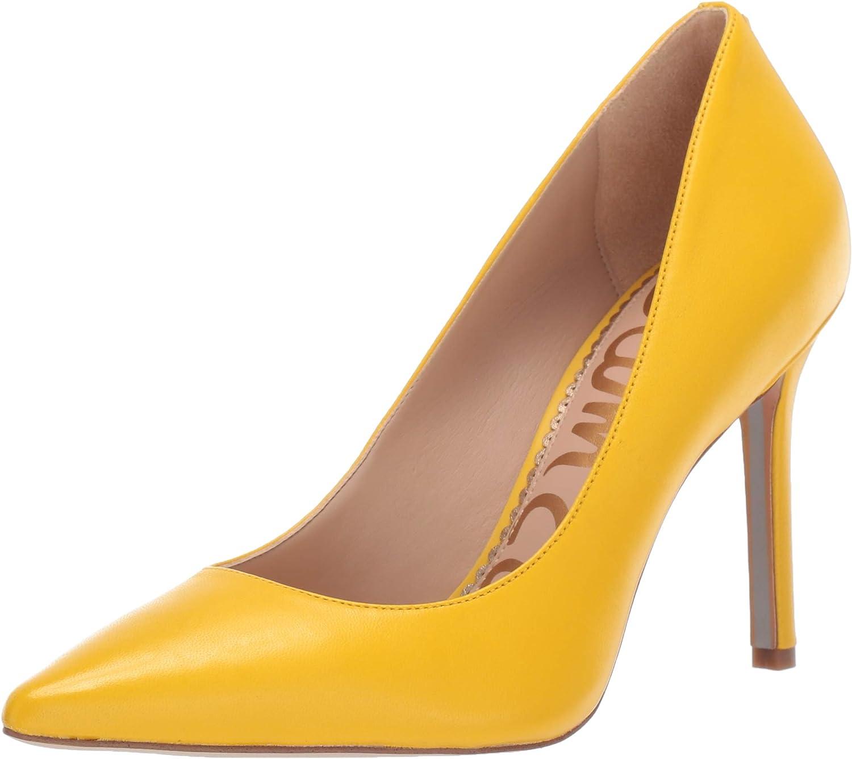 Sam Edelman Women's Hazel Dress Pump Lemon Leather