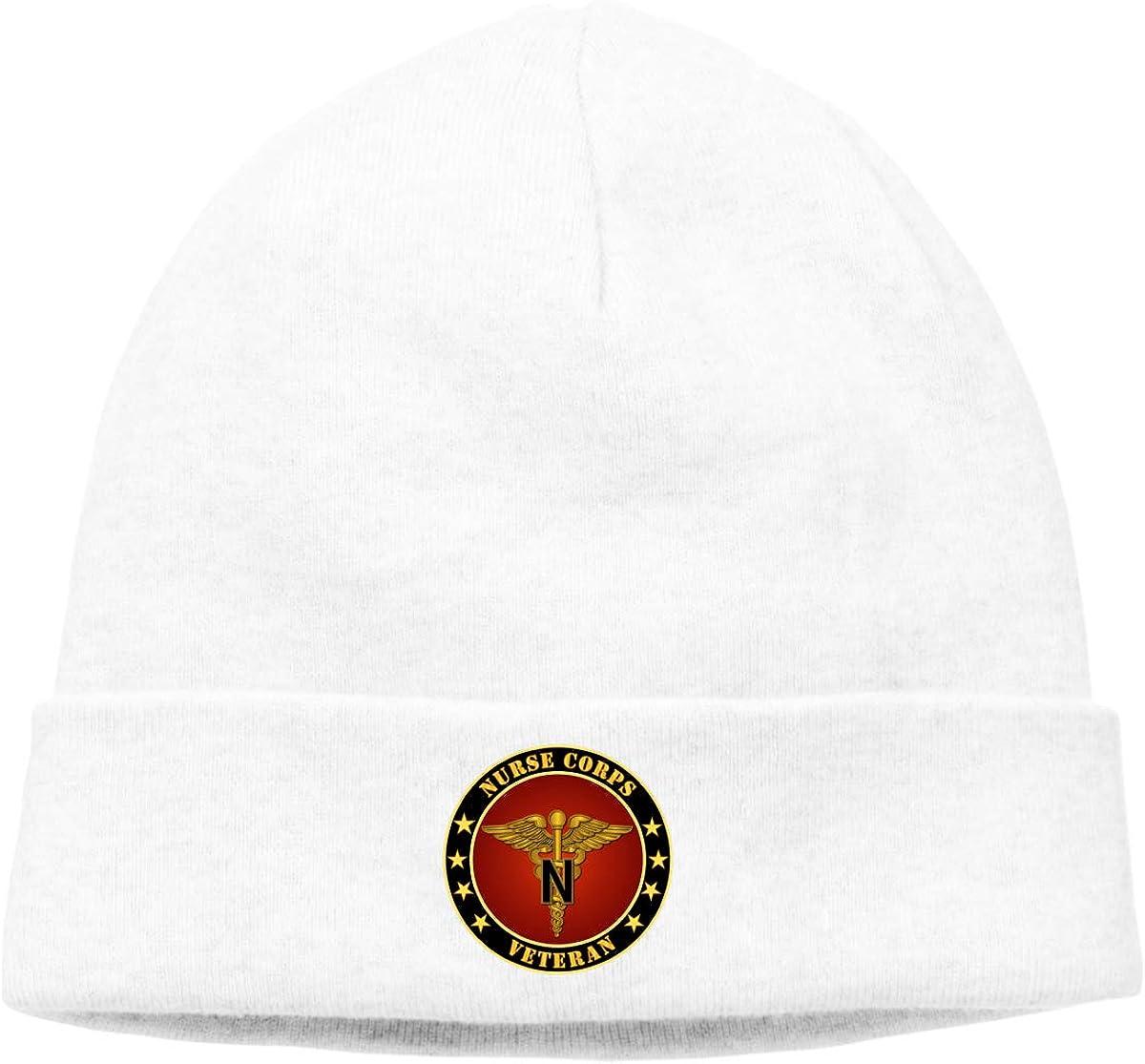 Lapptty Cap Army Nurse Corps Men Women Beanie Hat Knitted Beanie Knit Beanie