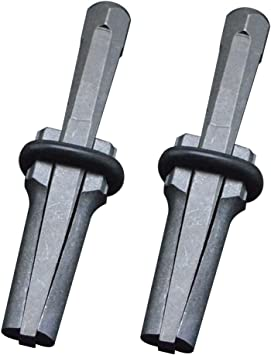 Marmor Fels Stein; Stopfen Werkzeug//Hand-Spalter f/ür Beton Granit Keil und Feder-Unterlegscheiben; Industriequalit/ät; 14/mm QWORK