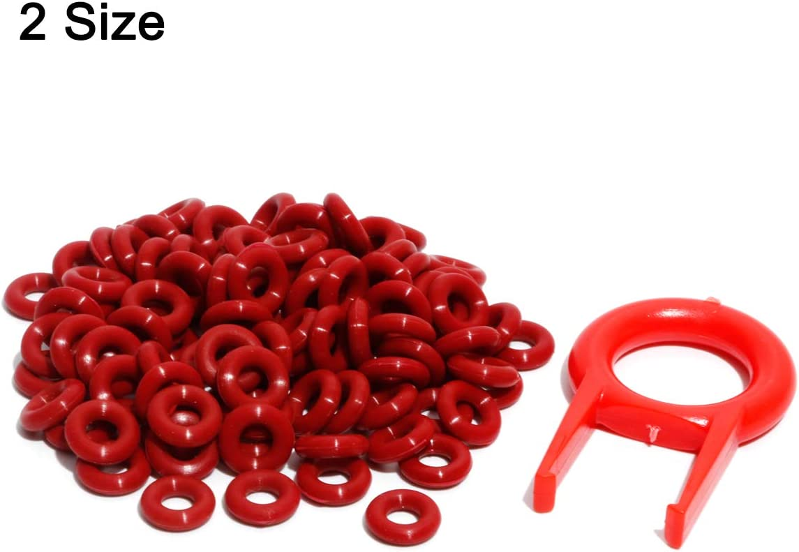 220 O-ring Para Teclados Cherry 8x5x1.5mm Y 9x4x2.5mm