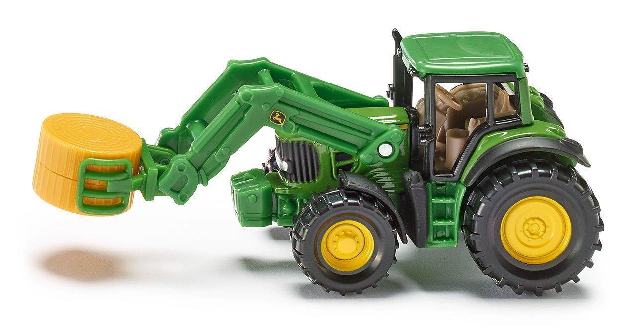Siku - 1379 - Véhicule miniature 1:64 - Tracteur avec pince à balles 376874 Modèles simples