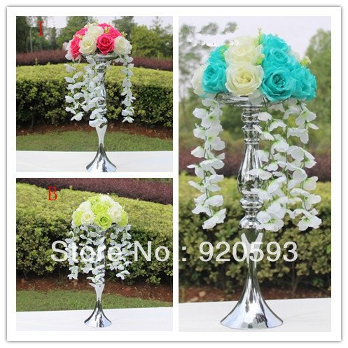 Siam Circus Road LED Flowers Wedding props simulation silk flowers artificial flower wedding decoration Candlestick flowers balls
