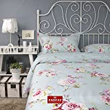 FADFAY Home Textile,Delicate Rural Shabby Bed Set,Designer European Country Style Vintage Floral Duvet Covers,Romantic Cherry Blossom Bedsheet