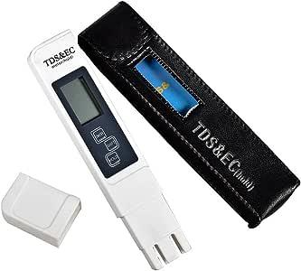 جهاز اختبار درجة ملوحة المياه، مجموع المواد الصلبة المذابة والموصلية الكهربائية