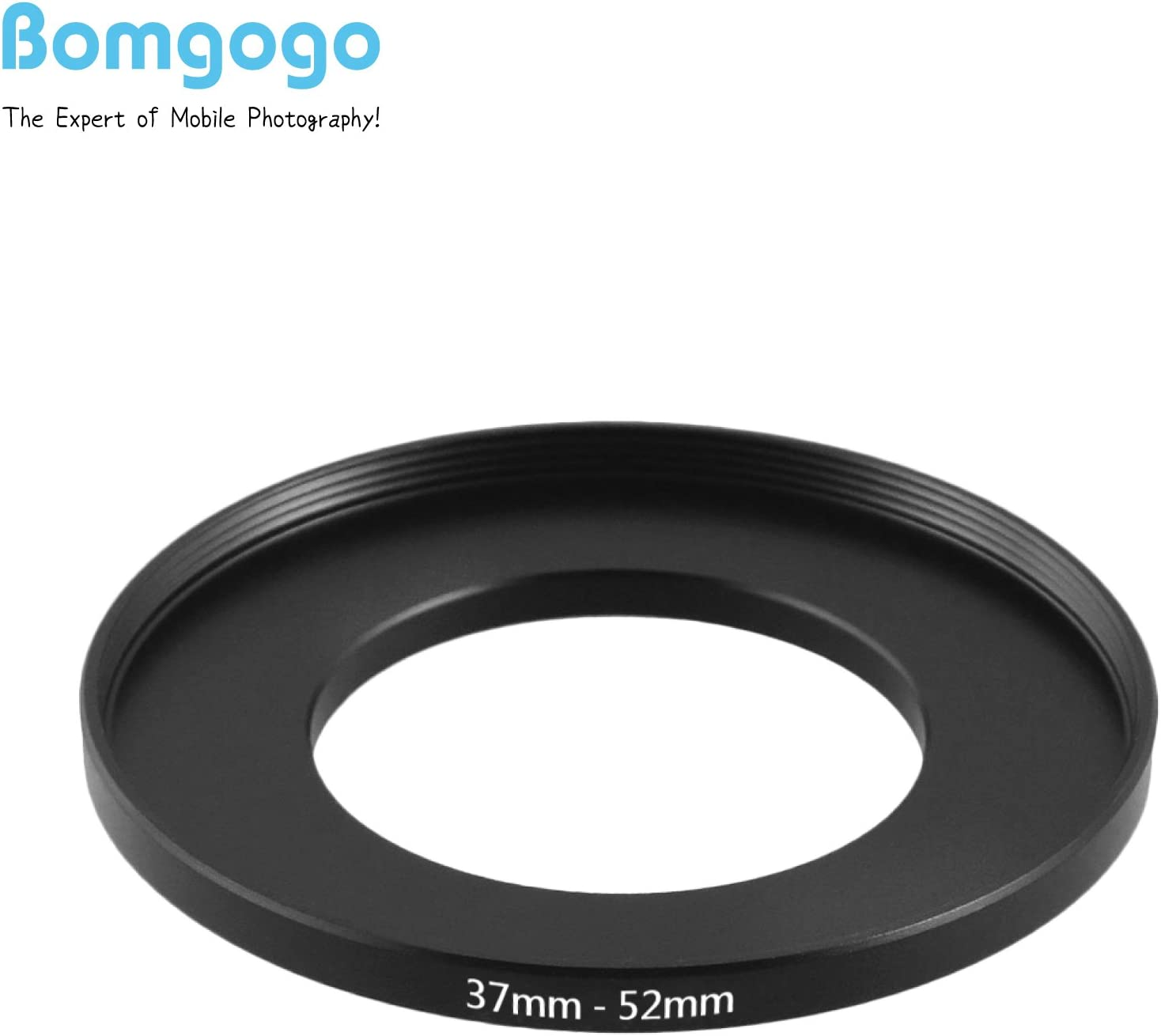 Bomgogo Step-up Adapter Ring 37mm to 52mm