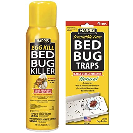 Amazon Com Harris 16 Oz Egg Kill And Bed Bug Trap Value Pack