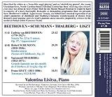 Beethoven: Sonata No. 23 'Appassionata'; Schumann: Kinderszenen; Thalberg: Grande fantaisie sur des motifs; Liszt: Totentanz
