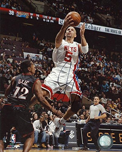 863127f145dd Jason Kidd Signed Photo - Jerey 8x10 W coa - Autographed NBA Photos at Amazon s  Sports Collectibles Store