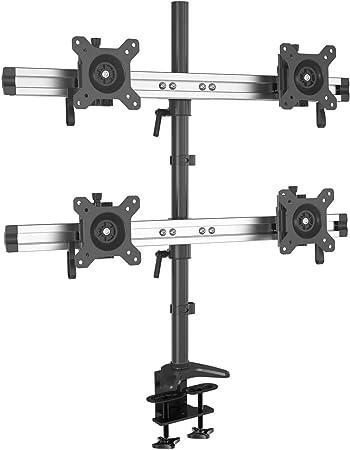 Hftek 4 Fach Monitorarm Tischhalterung Für 4 Computer Zubehör