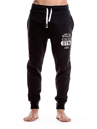 Online-Verkauf am besten einkaufen Leistungssportbekleidung WOLDO Athletic Jogginghose Herren lang Jogging Hose - für Männer  Trainigshose Sporthose