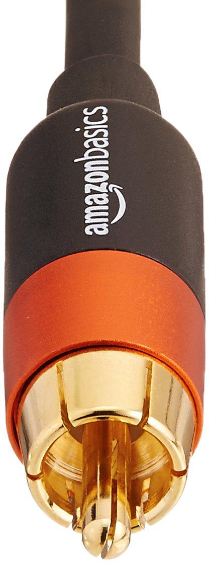 25 Feet Basics Digital Audio RCA Compatible Coaxial Cable