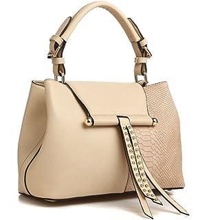 8dce5ee614 Bessie London Tote Style Handbag in Black - BW3384  Amazon.co.uk ...
