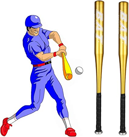 【25 Inch Baseball bat 】 Aluminium Baseball Bat Lightweight Racket Softball for Youth Adult Outdoor Sport Traing and Practise Or Home Protection