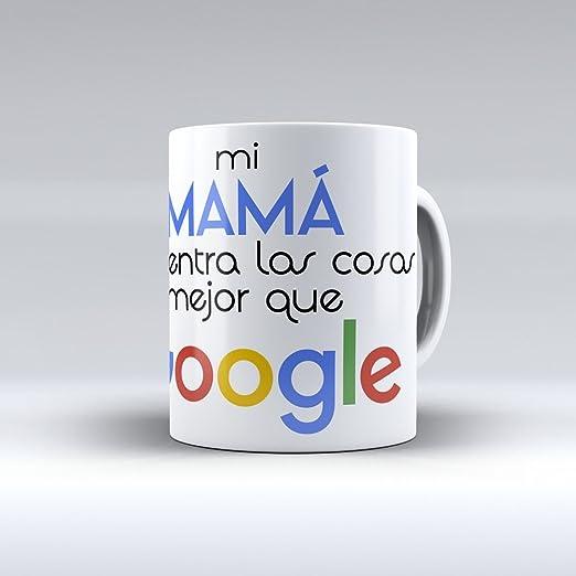 Taza cerámica desayuno regalo original día de la madre