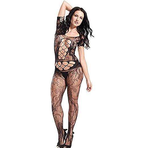 d2d2e41c3e Amazon.com  GEBDSM Womens Sexy Lingerie Bodystocking