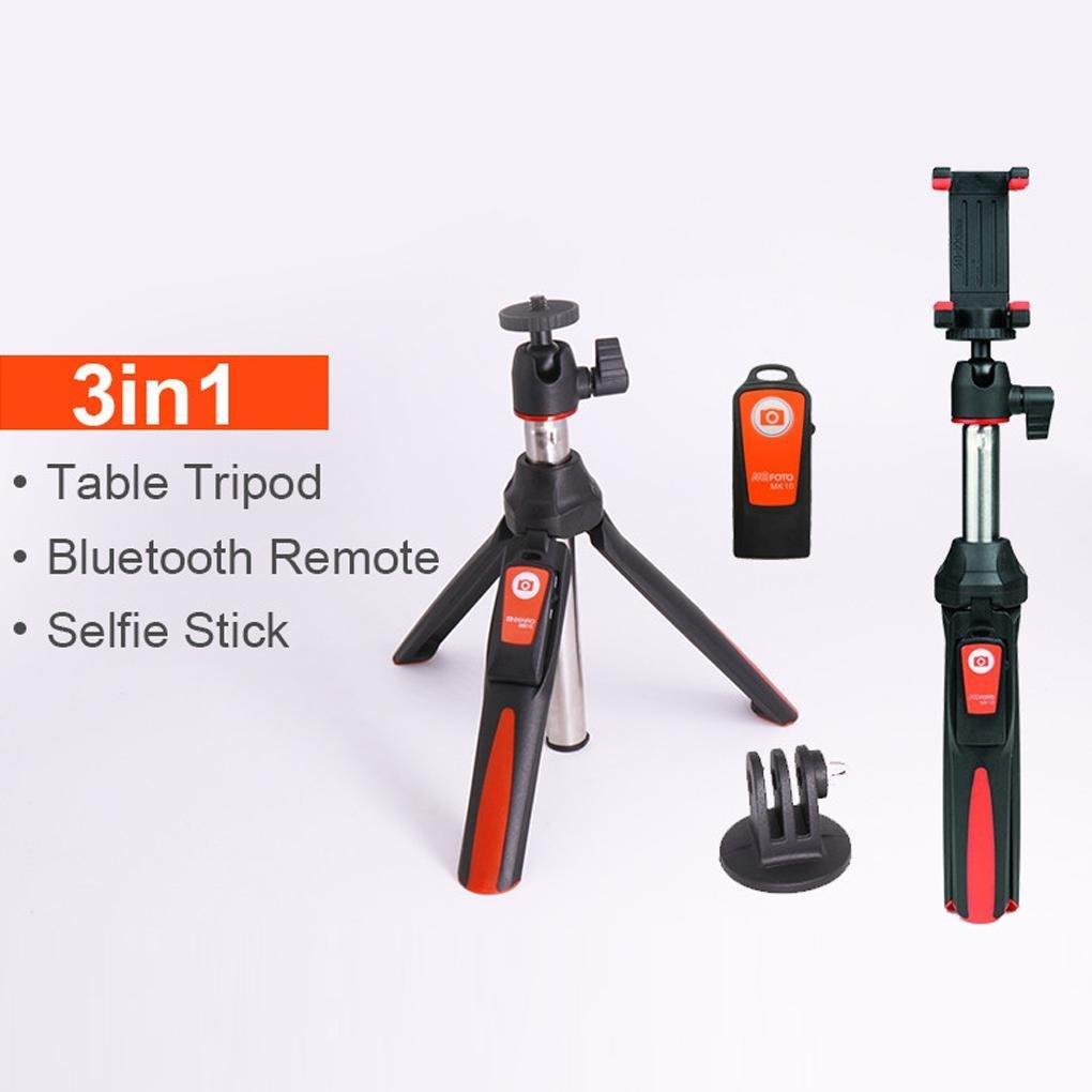 Kakiyi Benro MK10 Selfie palillo de trípode Bluetooth 3.0 Acero Inoxidable Ajustable Selfie Monopod para iOS/Android: Amazon.es: Hogar