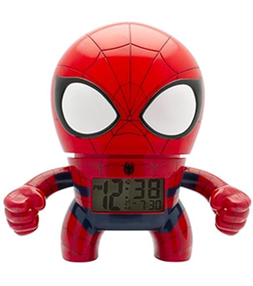 BulbBotz 2020053 Digital cuarzo reloj de alarma con luz: Amazon.es: Relojes