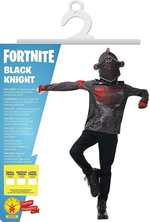Fortnite - Disfraz camiseta Black Knight para niños, 11-12 años ...