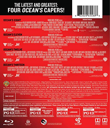 Ocean's 8 Collection (BD) [Blu-ray]