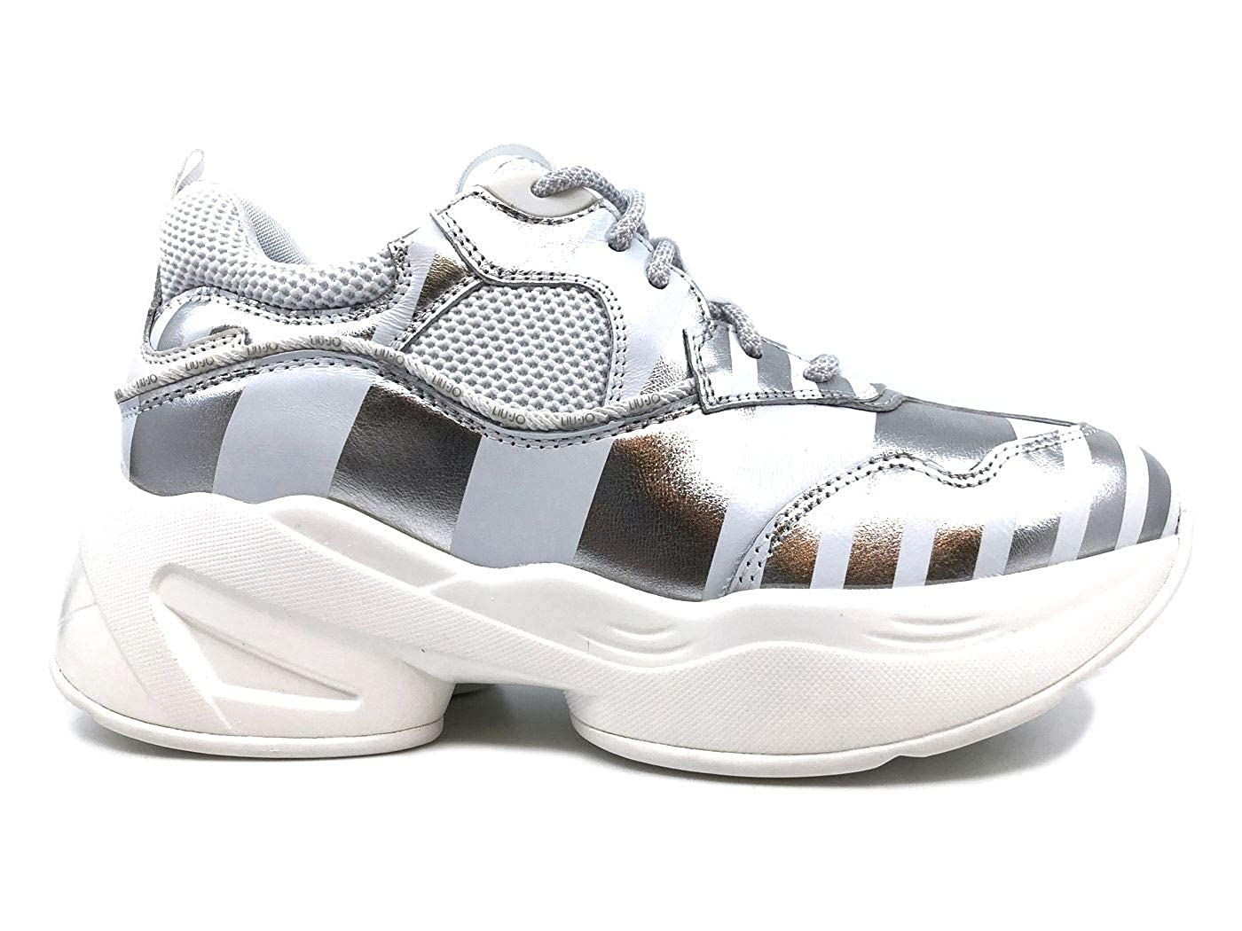 Liu Jo Jog Jog Jog 06 scarpe da ginnastica Donna Bianca in