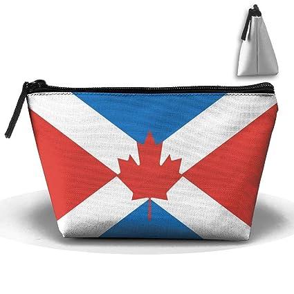 Flag of Canada4 Portátil Maquillaje Recibir Bolsa Capacidad ...