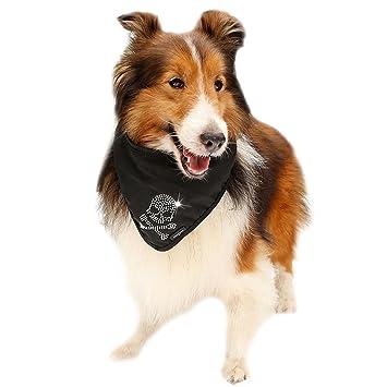 Bufanda Para Perro, Legendog Perro Babero Rhinestone Bone Paw Y Skull Pattern PañUelo Para Mascotas Bufanda Para Perro Gato: Amazon.es: Productos para ...