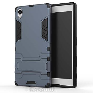 Cocomii Iron Man Armor Sony Xperia Z5 Premium Funda [Robusto] Táctico Sujeción Soporte Antichoque Caja [Militar Defensor] Cuerpo Completo Case Carcasa ...