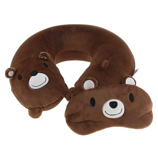 B baosity Set almohadas cojín repose-tete máscara para los ...
