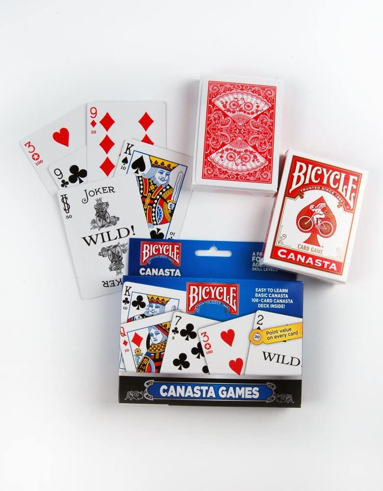 Bicycle 91-69010Canasta Games Playing Card