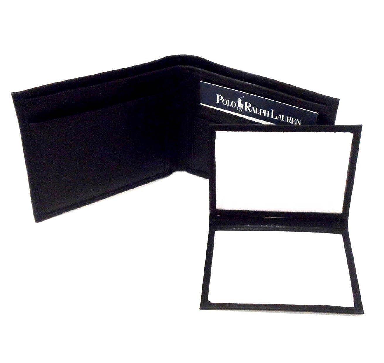 Polo Ralph Lauren con textura de piel de color negro cartera de ...