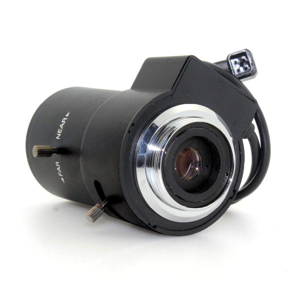 Vanxse 2.8-12mm 1/3 Auto-iris Varifocal Lens Cs-mount Dc Drive for Cctv Security Camera 1/3 Inch F1.4 by Vanxse