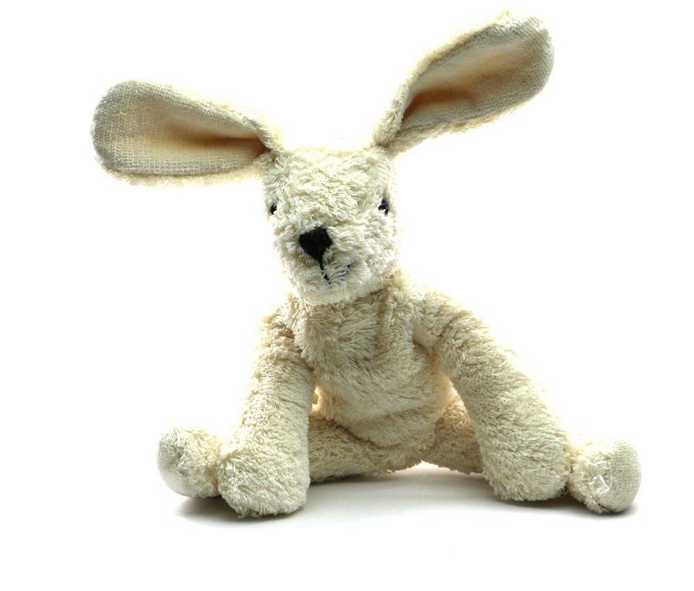 Animal de peluche conejo blanco 40 cm fabricado a a a mano 792431