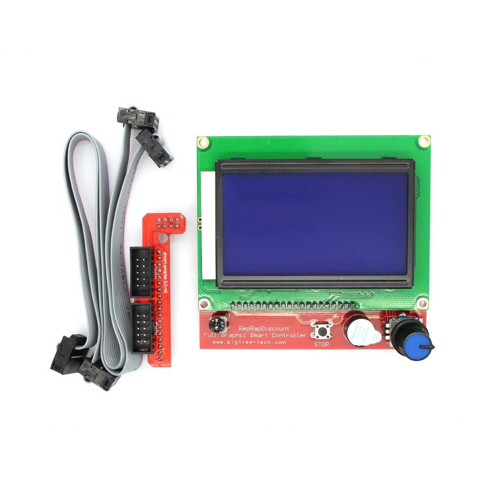 Anycubic LCD 12864 Gráfica Módulo Controlador para Rampas 1,4 ...
