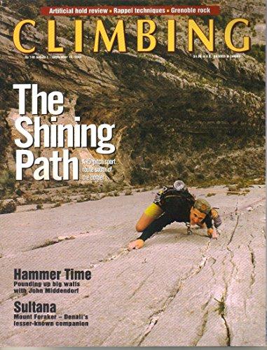 Climbing Publication, August 1- September 15 1994 (No 146)
