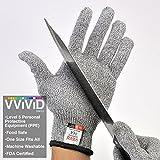 VViViD Cut Resistant Multi-Purpose Large Protective Gloves