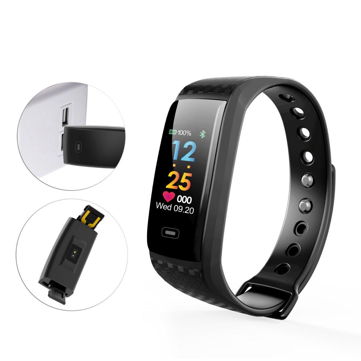 blulover Ck17S Frequenza Cardiaca Pressione Arteriosa Monitor Ip67 Impermeabile Smart Sport Bracciale