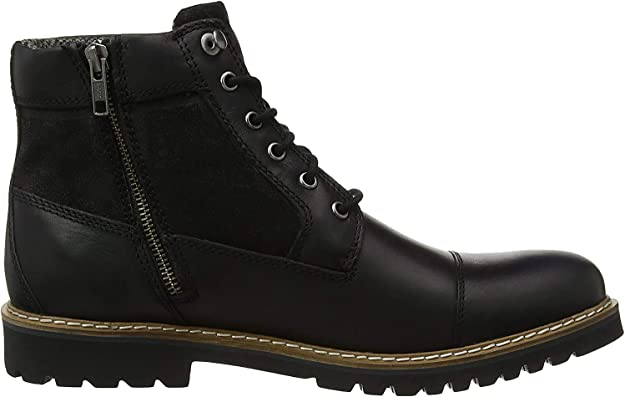 Rockport Marshall Rugged Cap Toe Boot, Botas Clasicas para Hombre