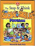The Stop and Think Social Skills Program : Teacher's Manual for Prek-1, Knoff, Howard M., 1570354219