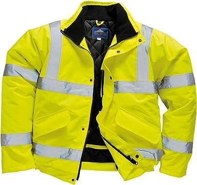 Portwest Hi-vis bomber jacket S463 Yellow 2XL