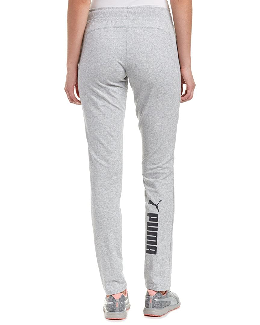 Buy PUMA Women's Active Track Pants with, Light Gray Heather, XX-Large at  Amazon.in