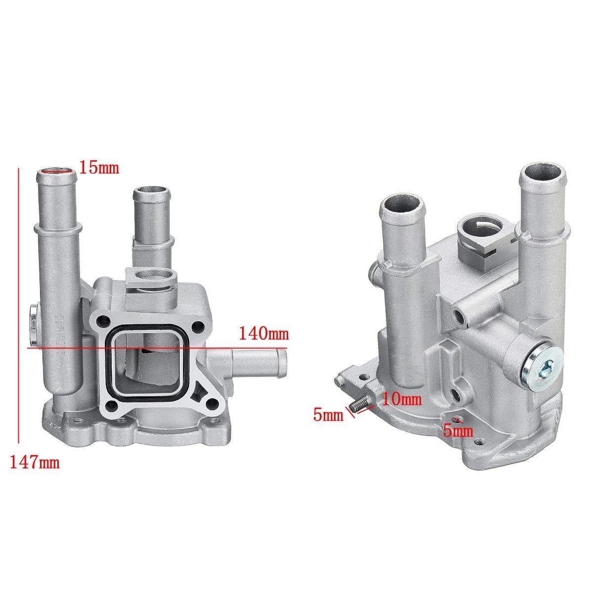 Amazon.com: Udele-Store - Carcasa termostato de aluminio ...