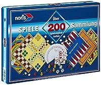 Noris Spiele 606112583 - Spielesammlung mit 200 Spielmöglichkeiten