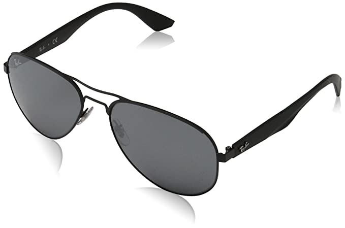 Ray-Ban 0Rb3523, Gafas de Sol para Hombre, Matte Black, 59: Amazon.es: Ropa y accesorios