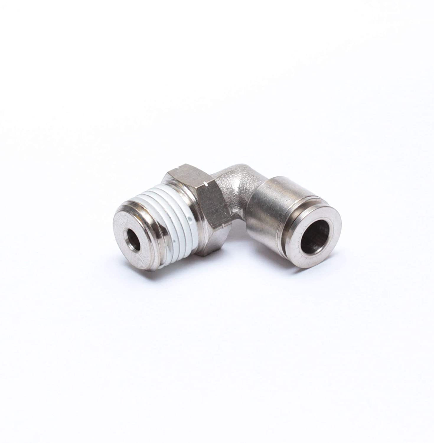 Beduan Brass BPL Push to Connect Air Fittings Elbow 3//8 Tube OD x 1//4 NPT Male 90/° Degree Adapter