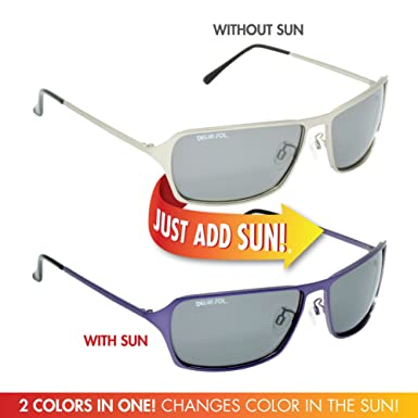d08b29965a75 Solize Color-Changing Polarized Sunglass by Del Sol - Lifetime Protection  Against Theft