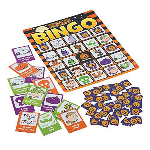 Peanuts Halloween Bingo Game (Halloween Bingo Games)