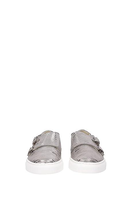 Sneakers Liu Jo Mujer Piel Plata y Gris S16107P018804155 Plata 36EU xvlw6O