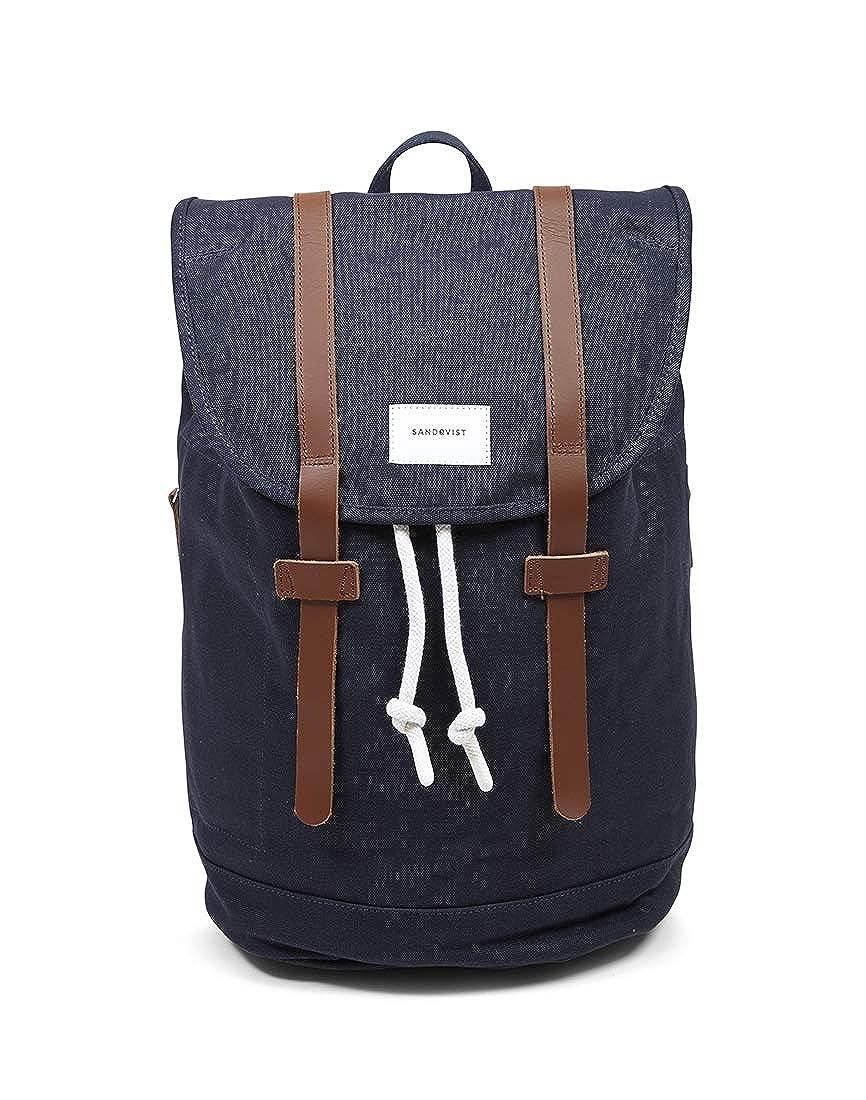 Sandqvist Stig Large Backpack Blue - Navy  Amazon.co.uk  Clothing adb9ba5c80