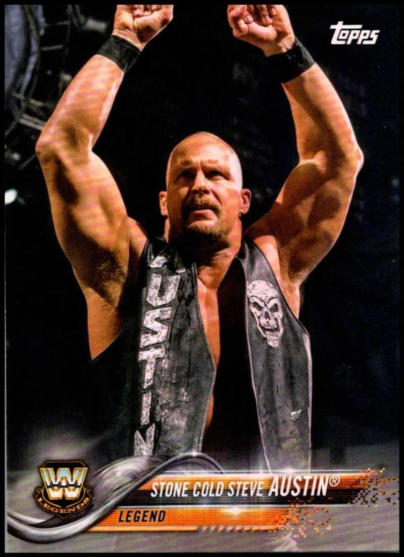 2018 Topps WWE Undisputed 30 Years of Royal Rumble #RR9 Stone Cold Steve Austin