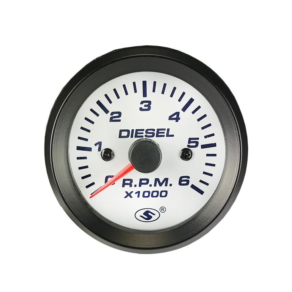 I Gauge 2 1 16 Or 52mm 06000 Rpm Electrical Diesel Vdo 4000 Tachometer Wiring Further Engine Kits Automotive